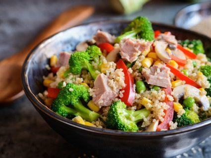 Atum com quinoa: a combinação que tem de provar este verão
