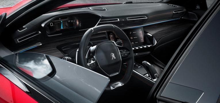 Peugeot 508 design interior