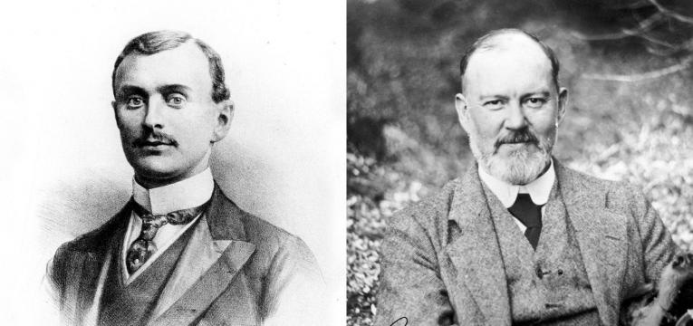 Frederick Henry Royce and Charles Stewart Rolls