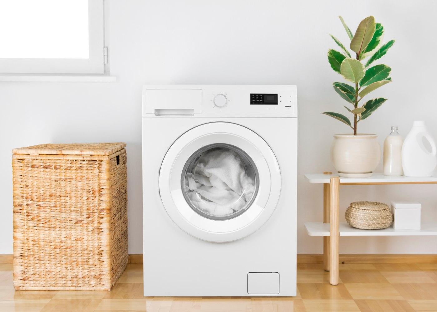 máquina de lavar a roupa