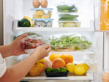 alimentos para guardar no frigorífico