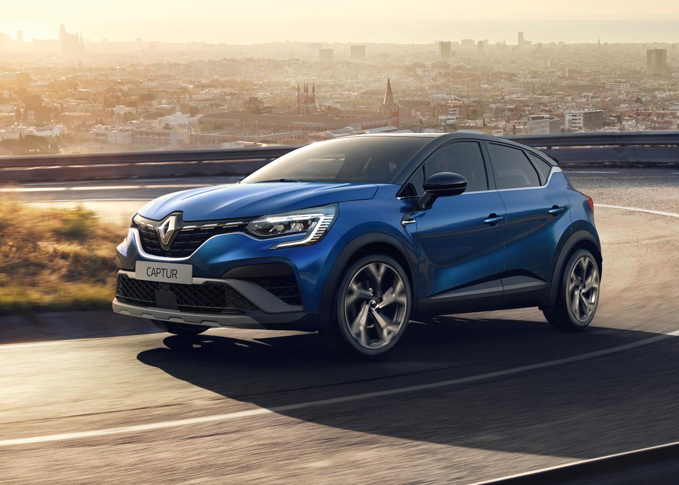 Renault Captur, um dos carros familiares baratos