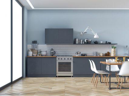 pavimento de cozinha