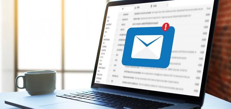 receber um e-mail