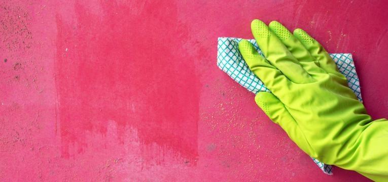limpar paredes