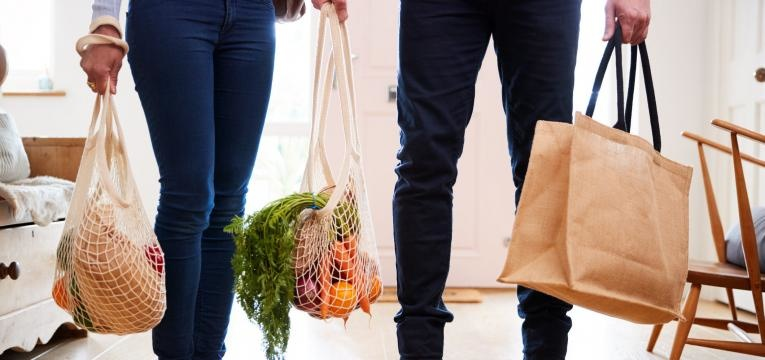 sacos reutilizáveis