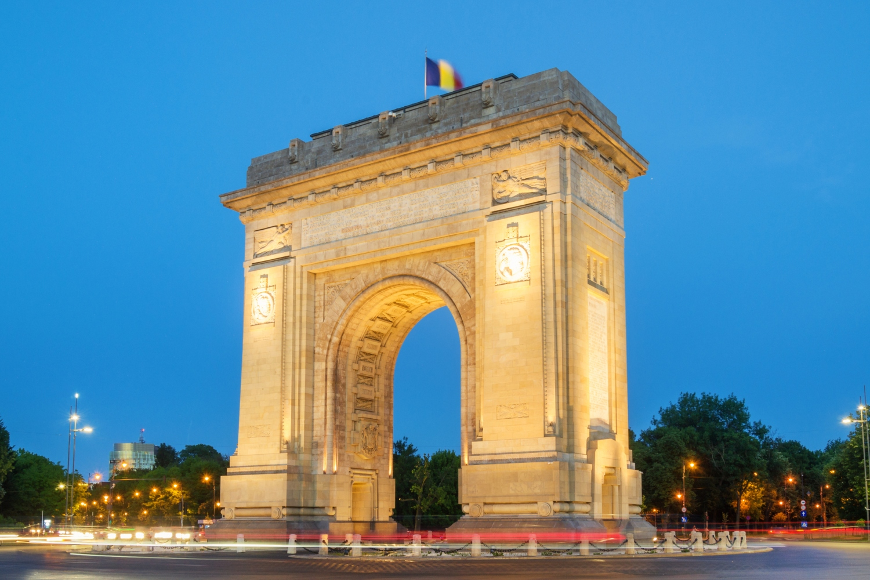 Bucareste Arco do Triunfo