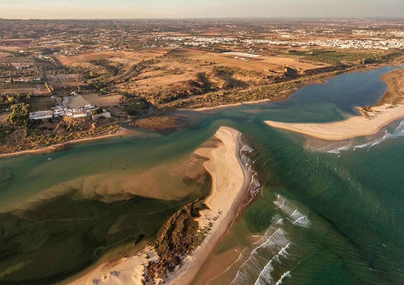 Cacela velha praia