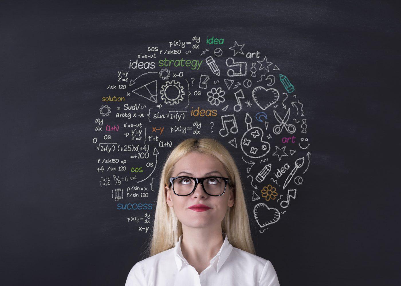 cerebro ideias pensar