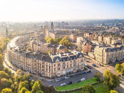 Panorâmica de Glasgow