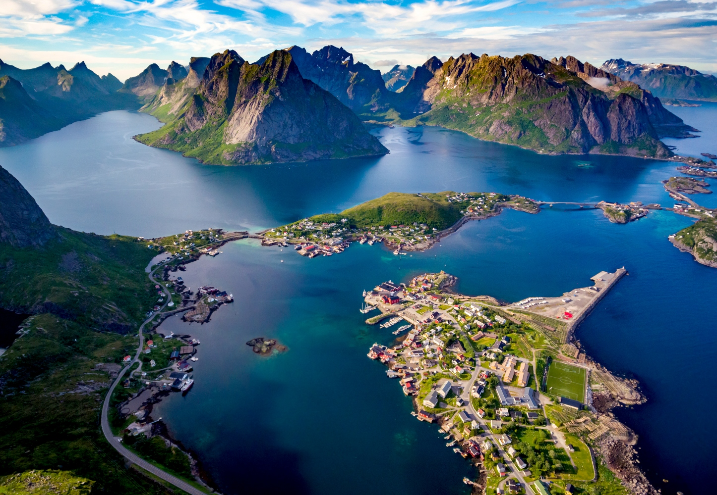 Ilhas Lofoten Noruega