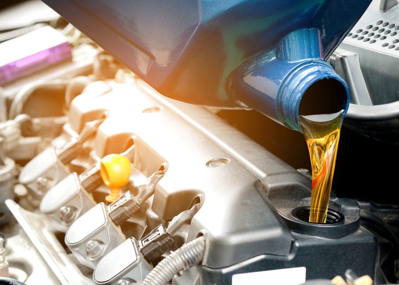 meter oleo no motor