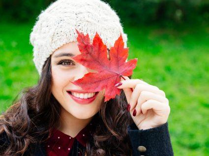 Maquilhagem de outono