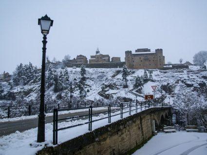 Puebla de Sanabria no Inverno