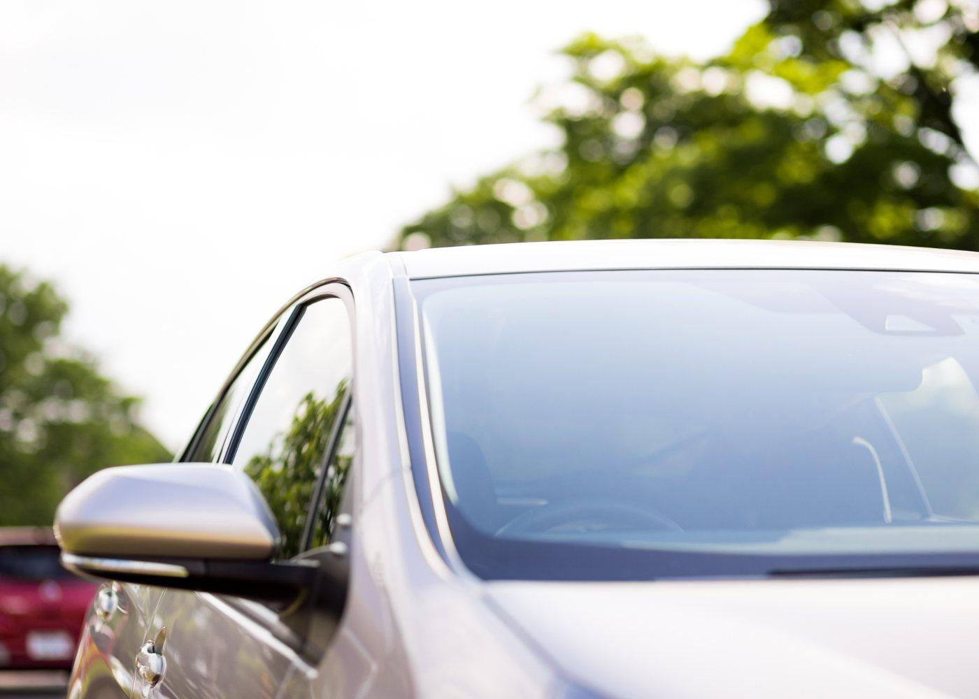 pára-brisas do carro