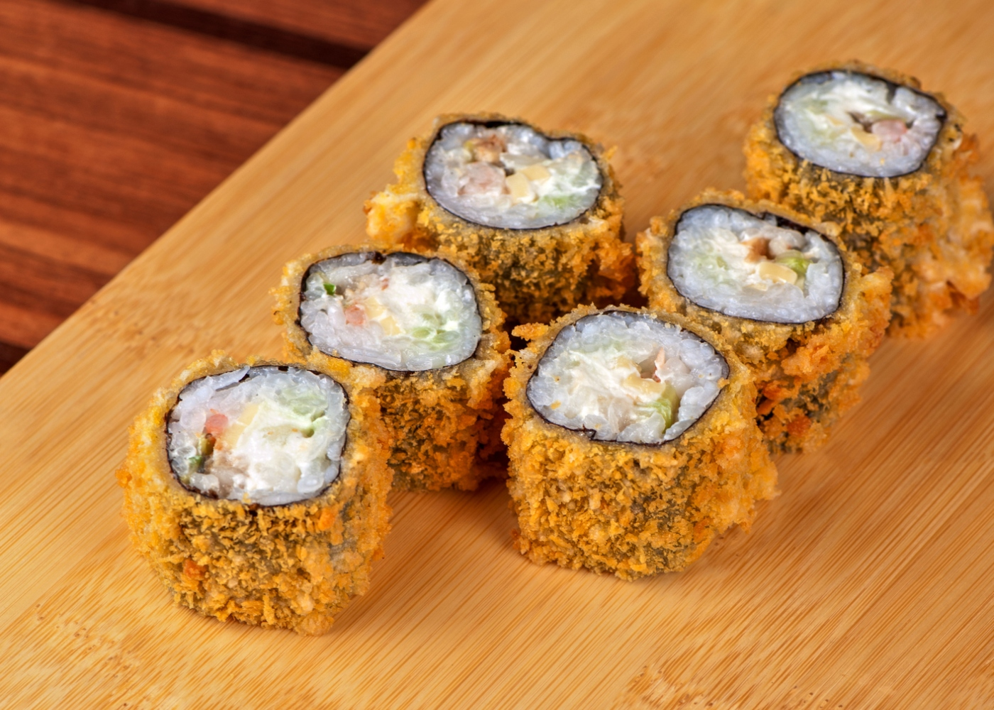 hot roll vegan de sushi caseiro