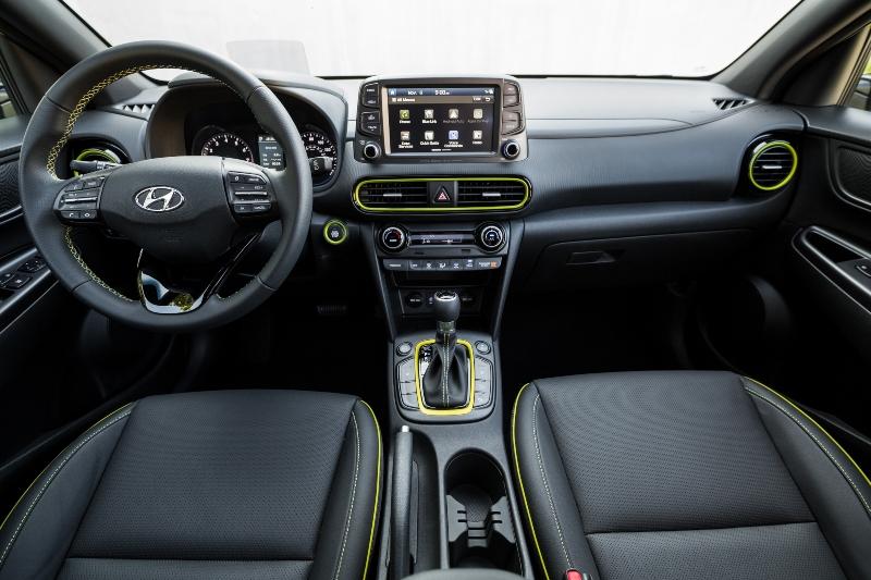 Hyundai Kauai Interior