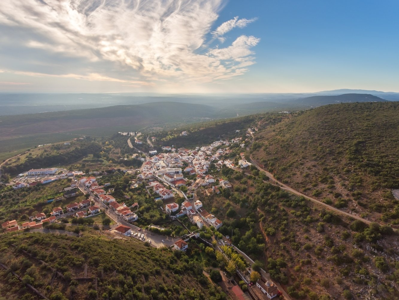 Alte no Algarve no outono