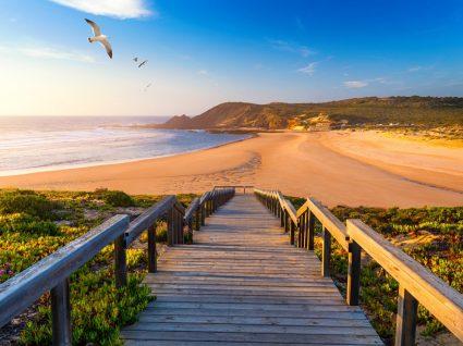 Praia em Aljezur