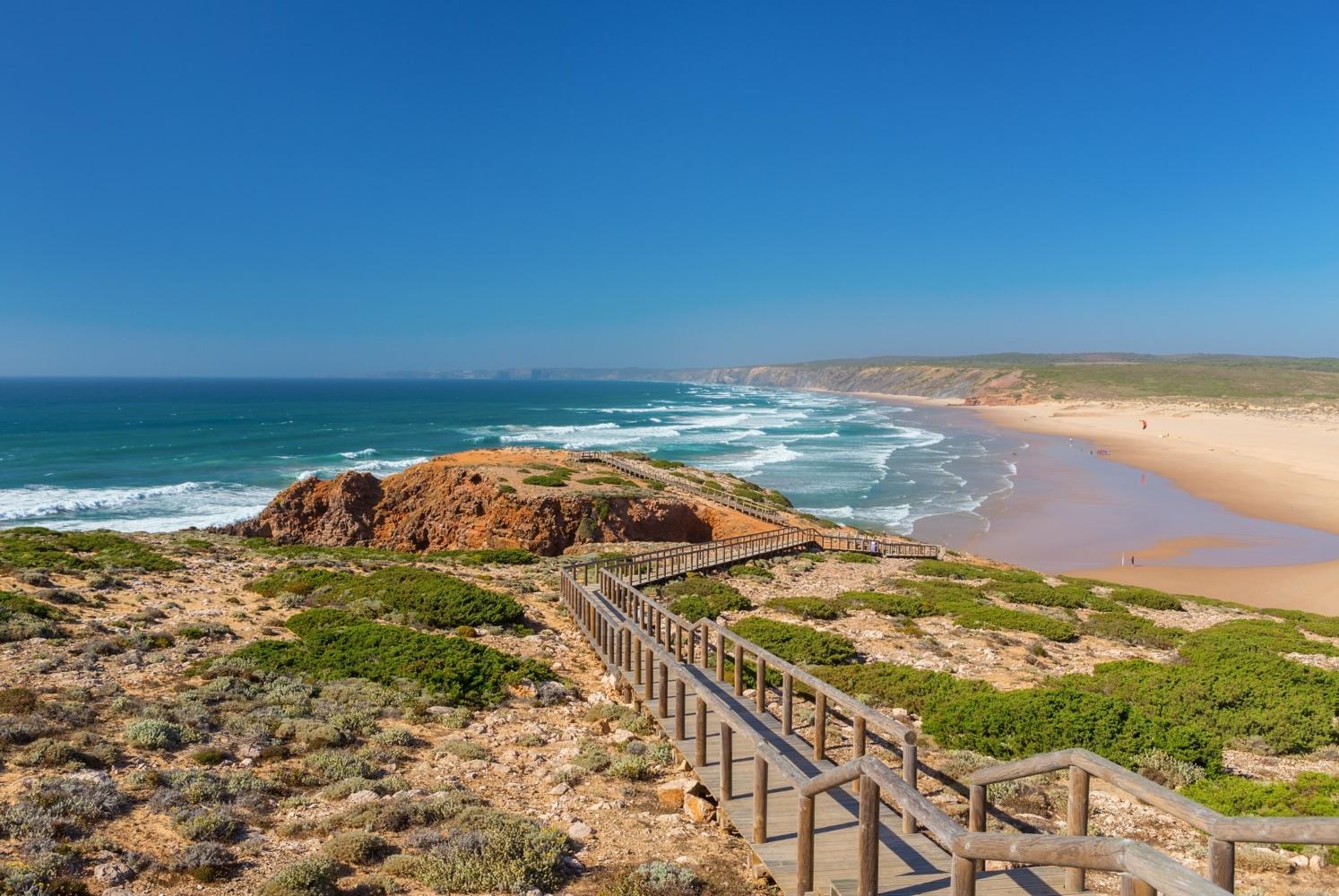 Praia da Amoreira em Aljezur