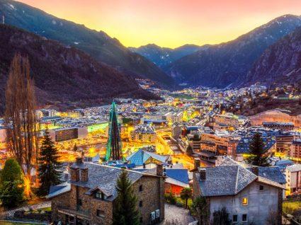 Vista geral de Andorra