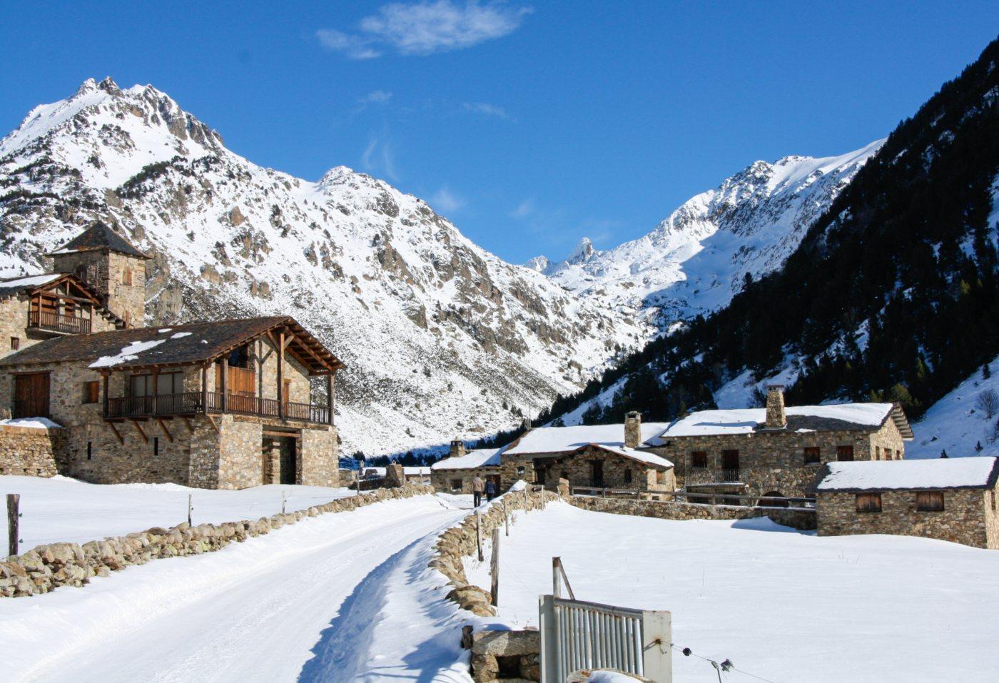 Neve em Andorra