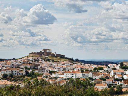 Vista geral da vila de Arraiolos