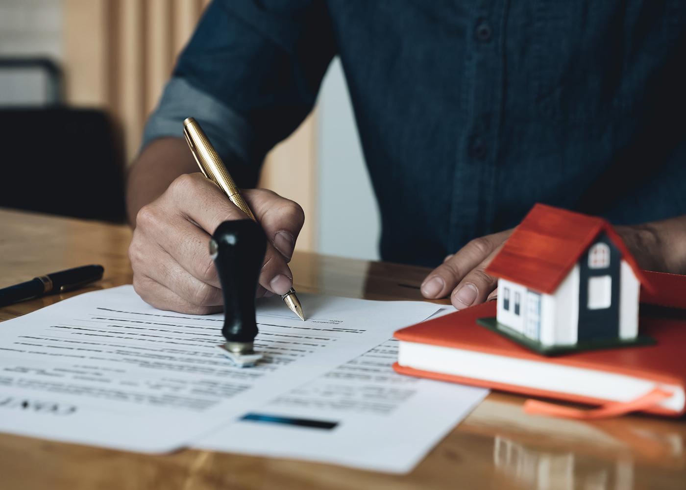assinar contrato de casa