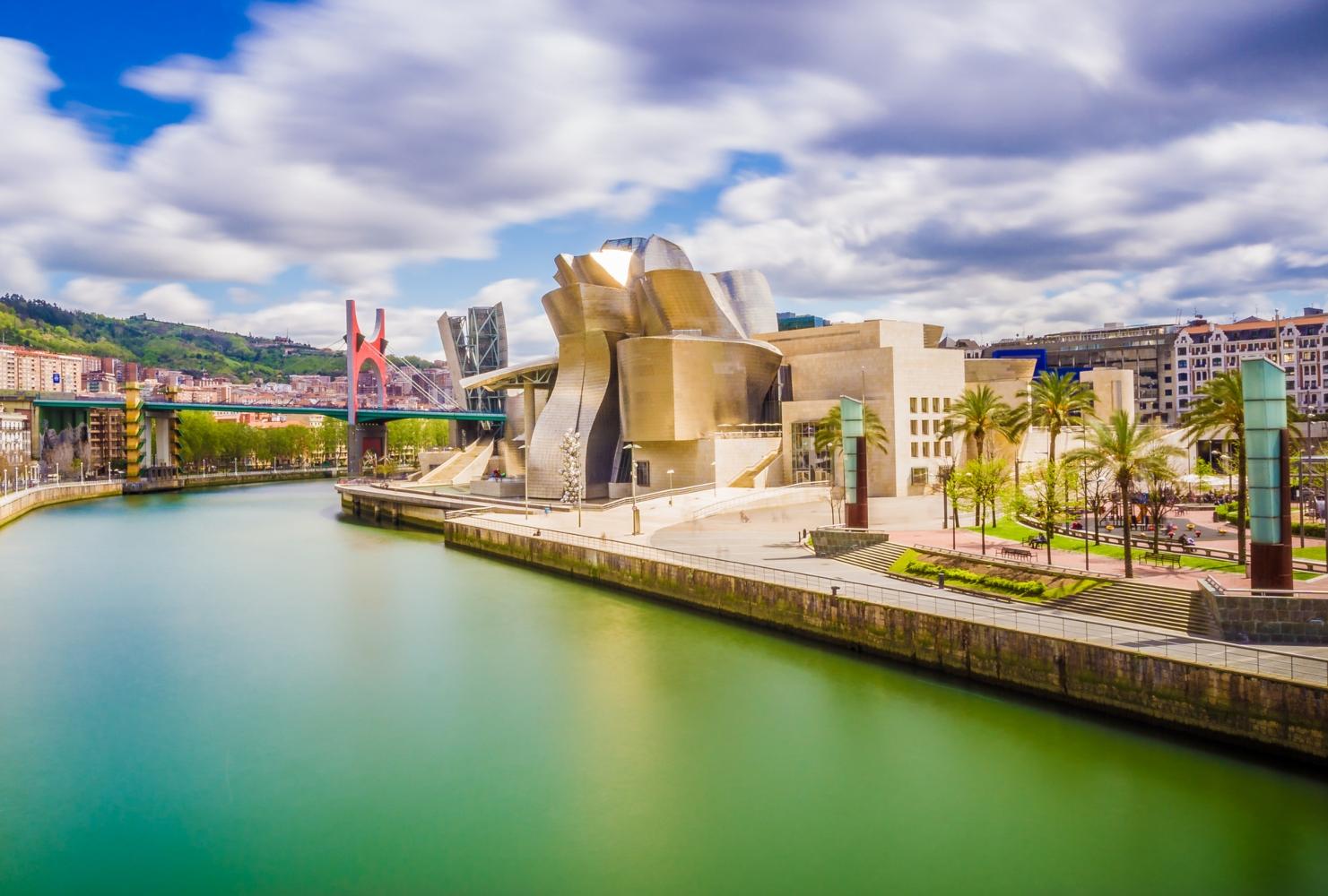 Vista da cidade de Bilbao