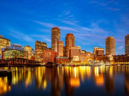 Vista geral de Boston