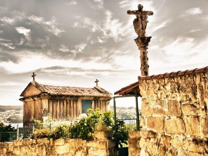 Vila de Combarro na Galiza