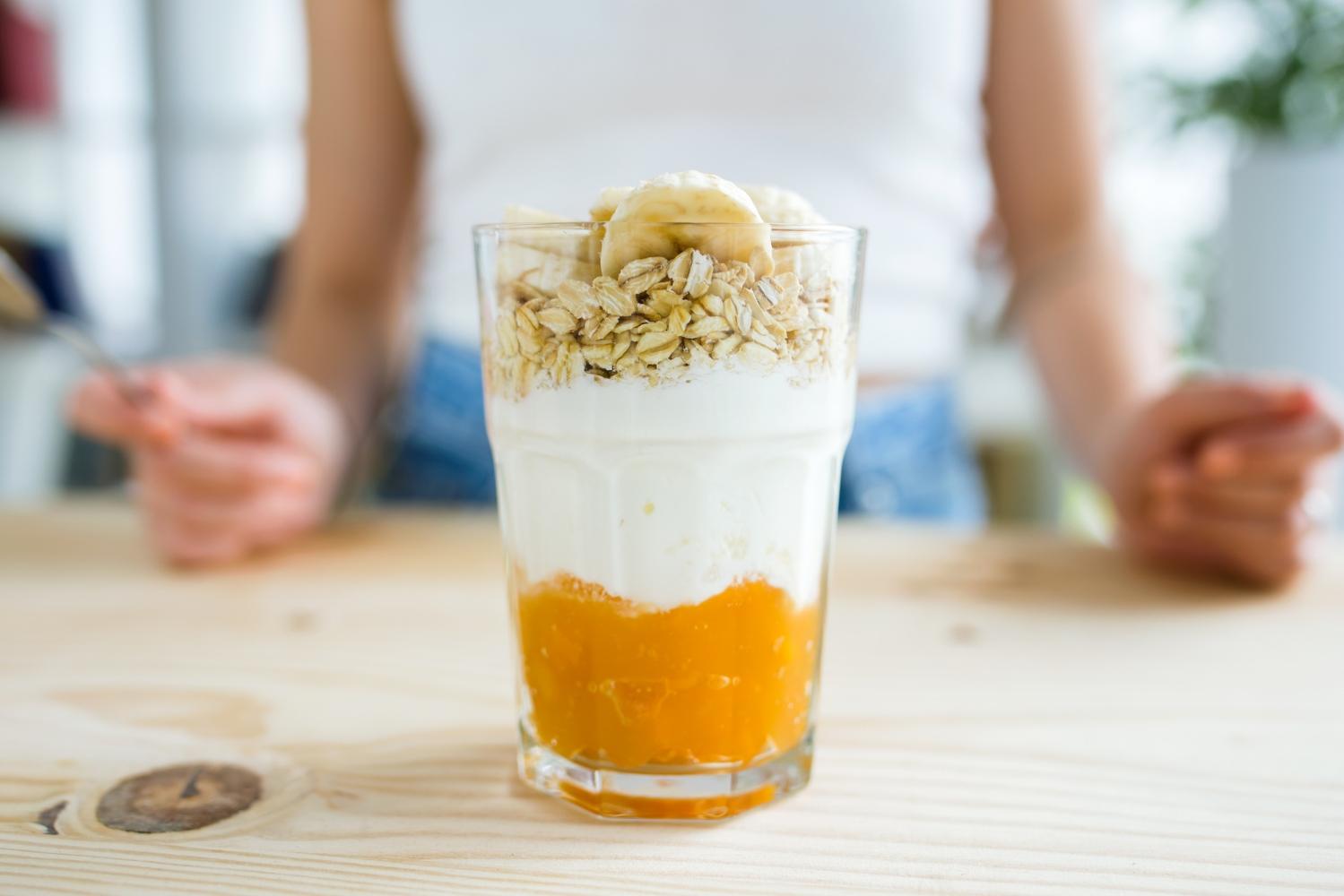 pequeno almoço saudável para combater a diarreia