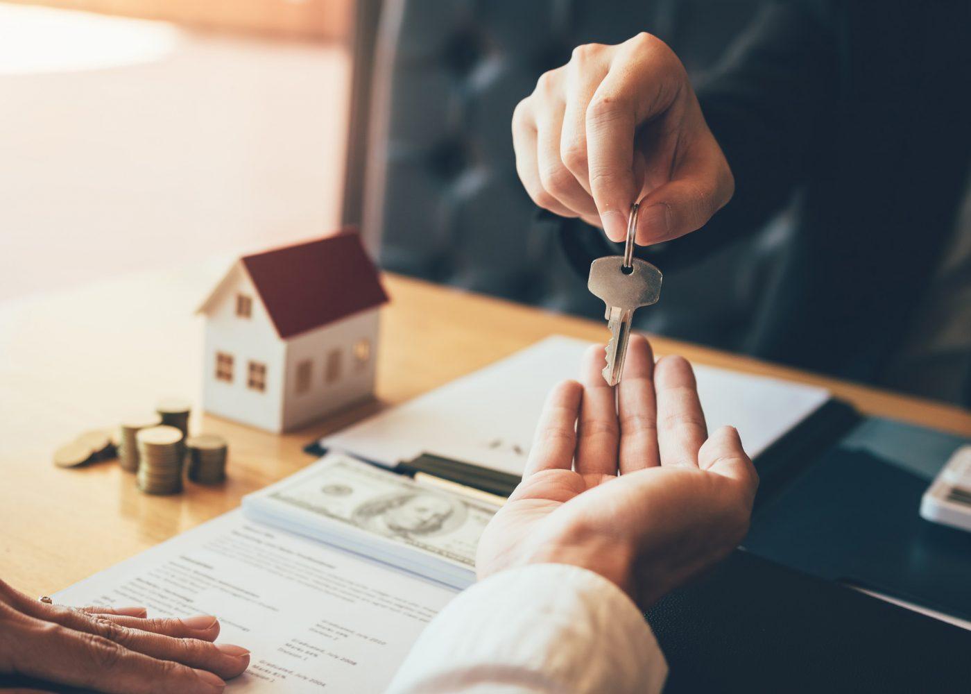 entregar chaves de casa