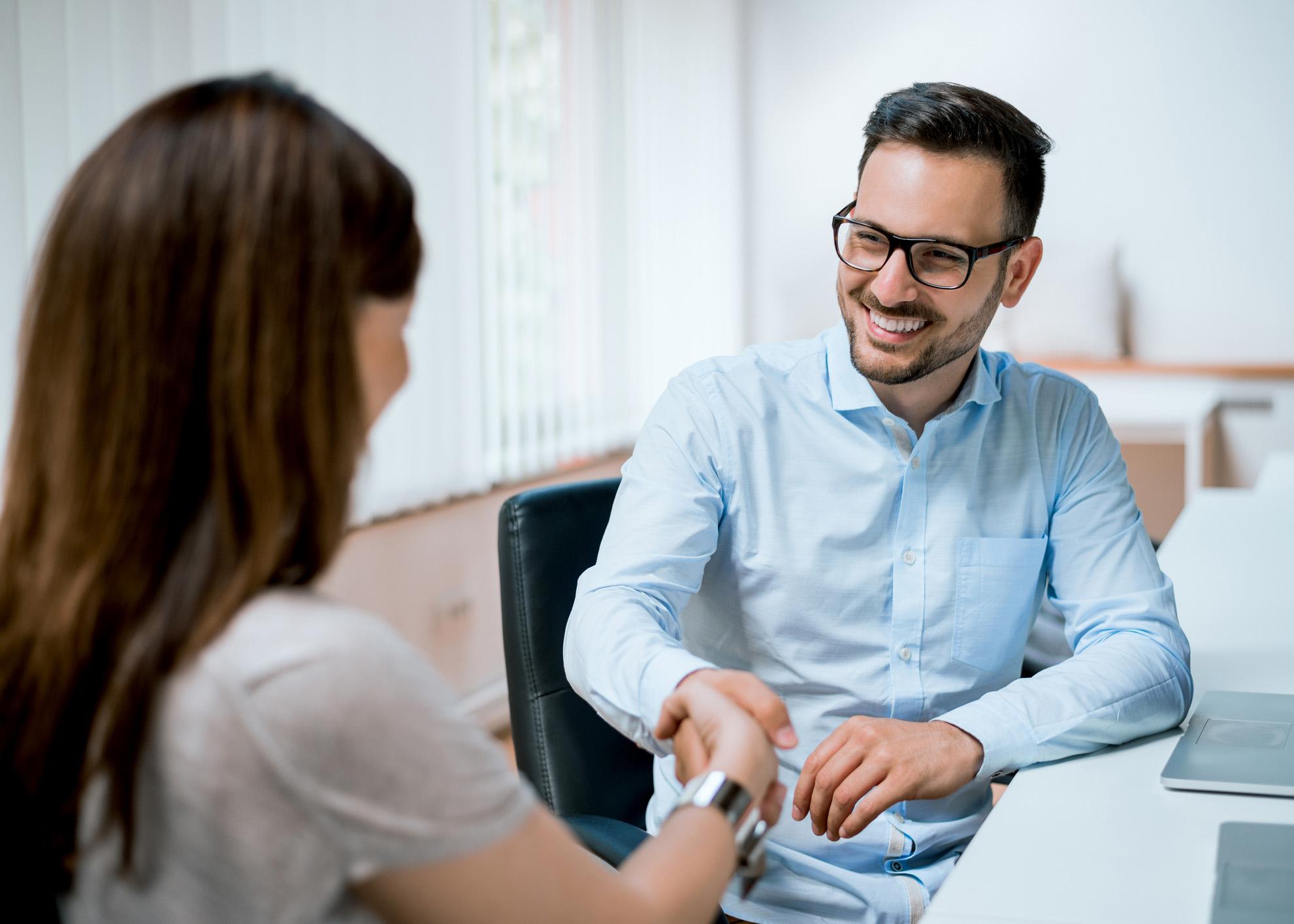 entrevista de emprego sucesso