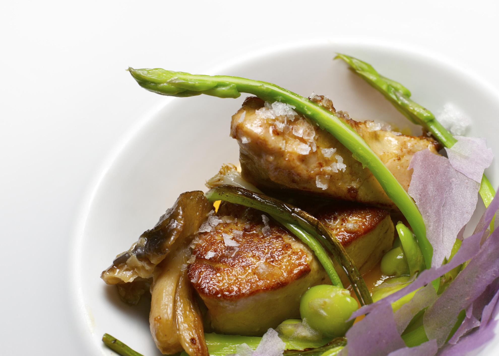 escalopes de foie gras