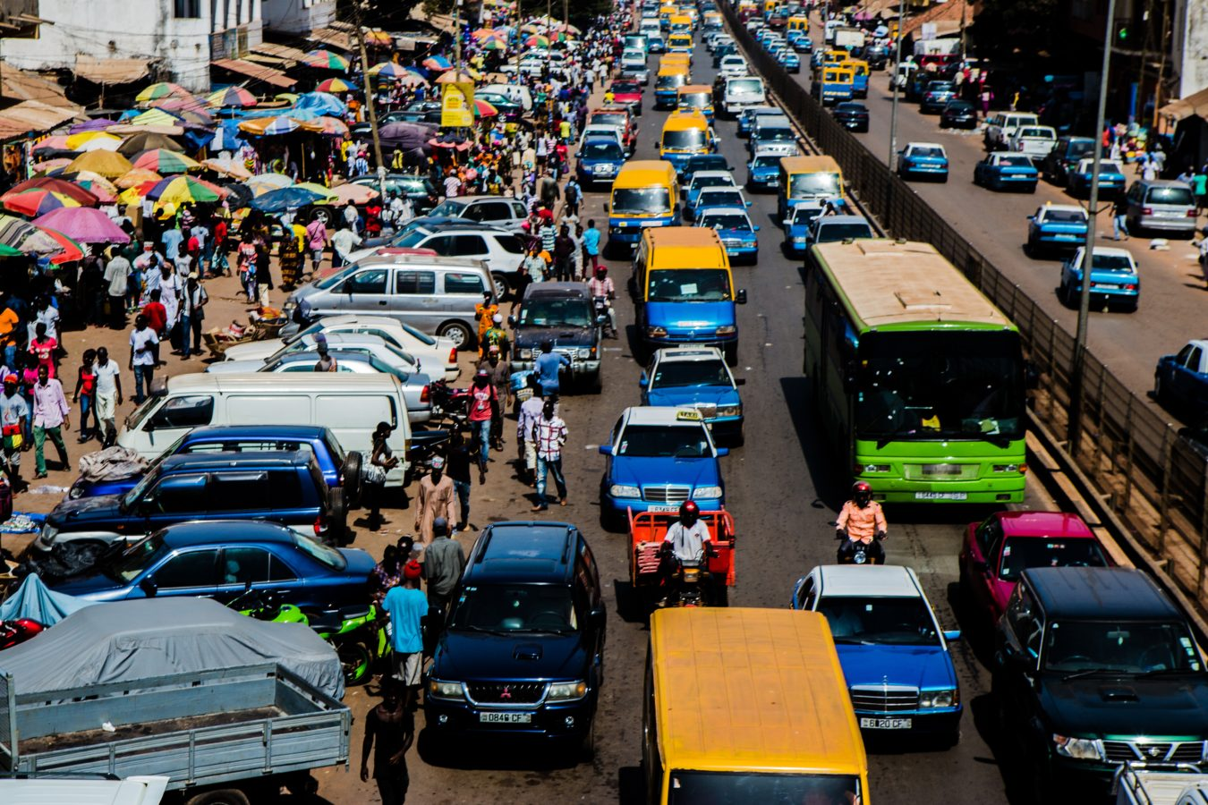 vista da capital da Guiné-Bissau