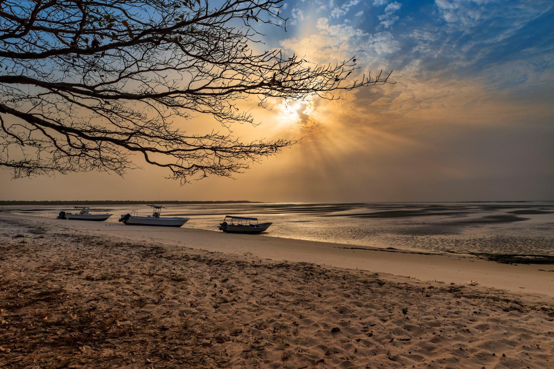 Arquipélago dos Bijagós na Guiné-Bissau