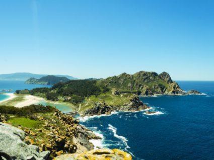 Vista das ilhas cies