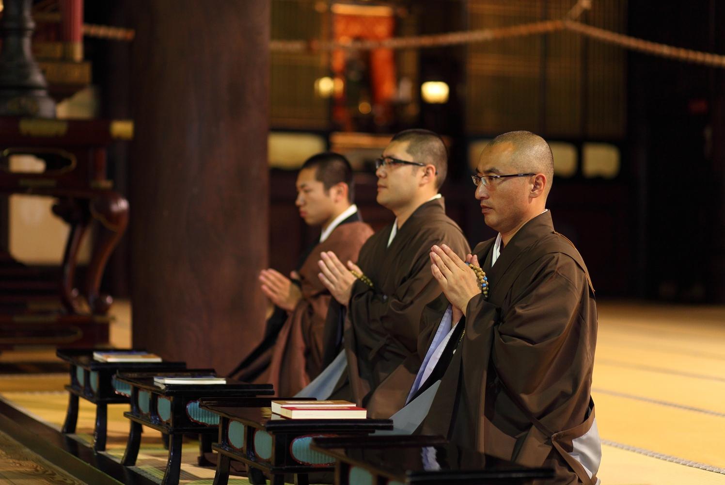 Japão Monges
