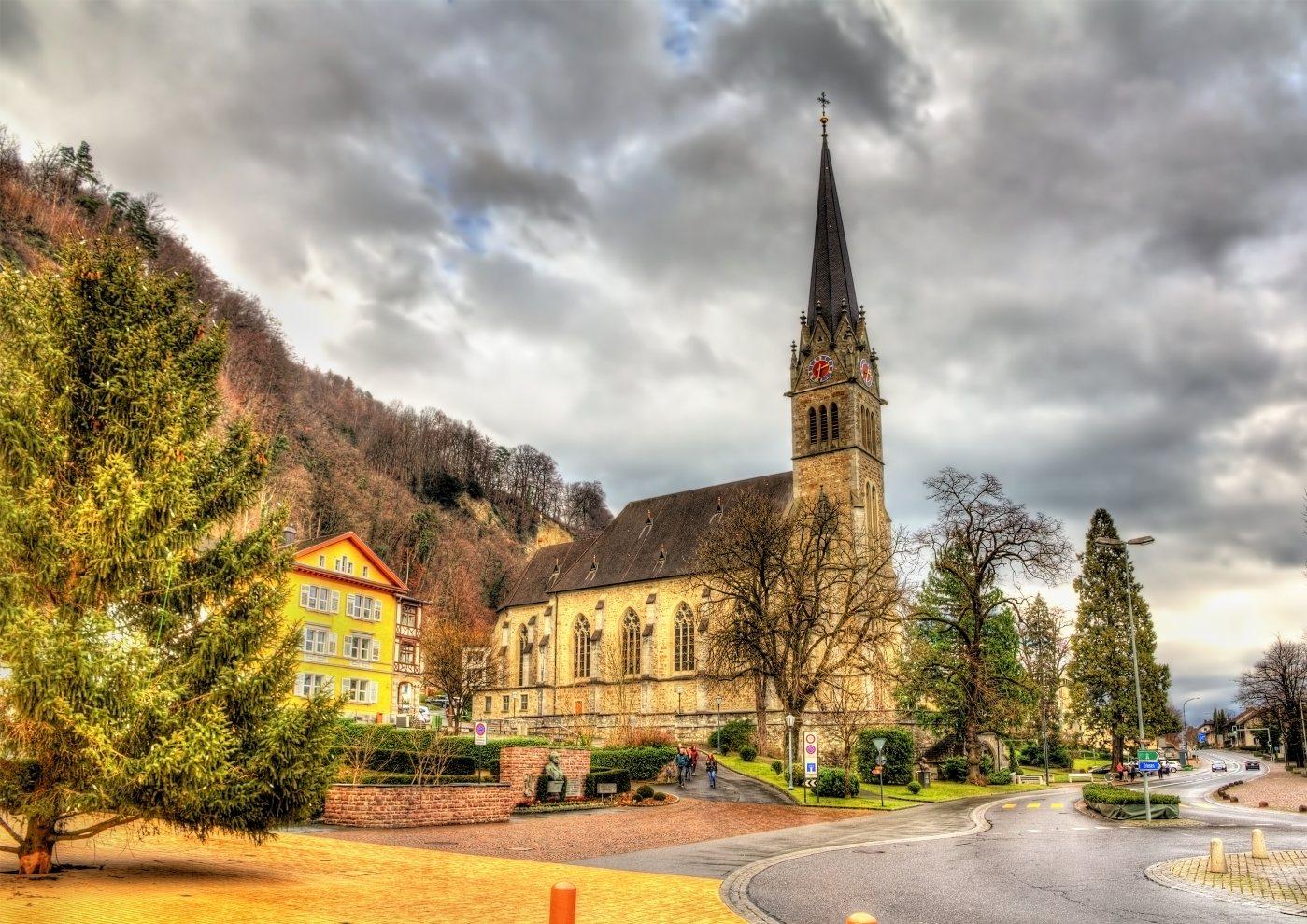 Catedral de São Florin no Liechtenstein