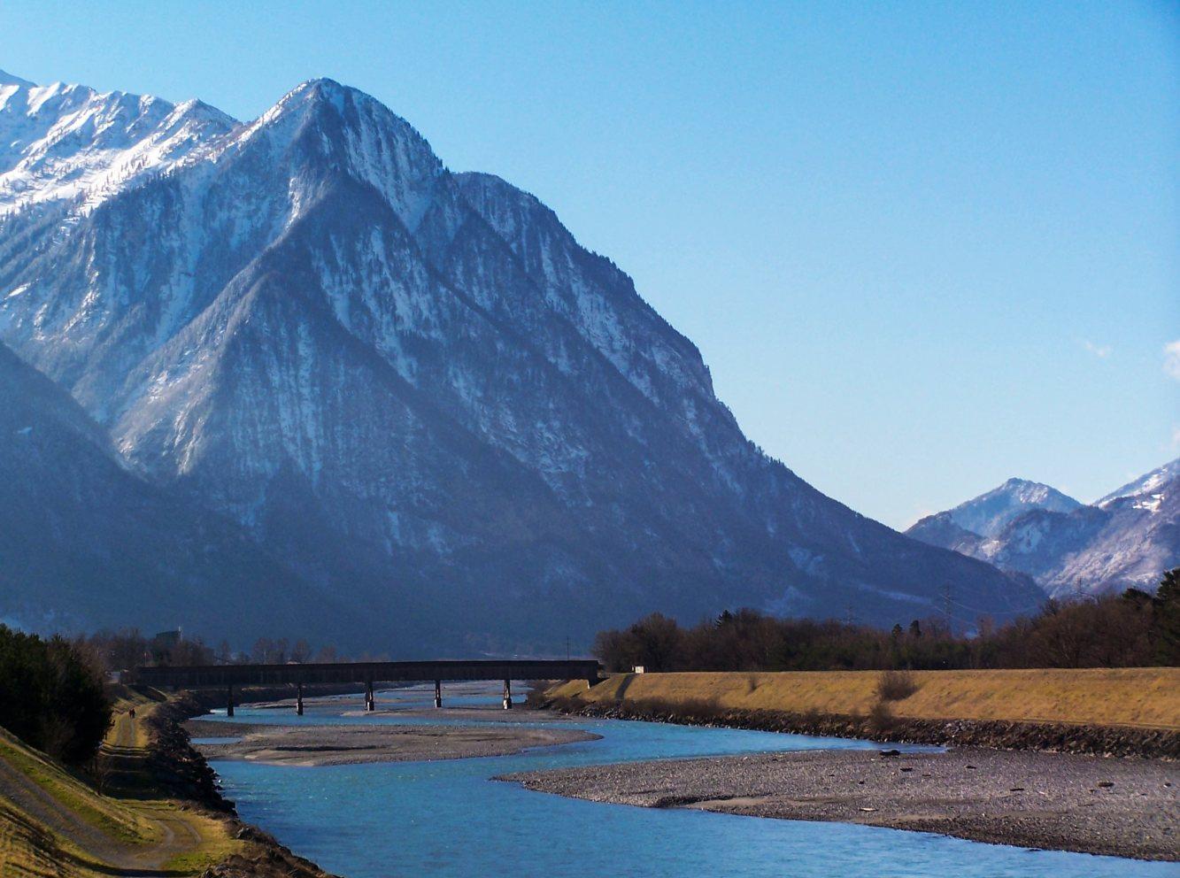 Montanhas do Liechtenstein
