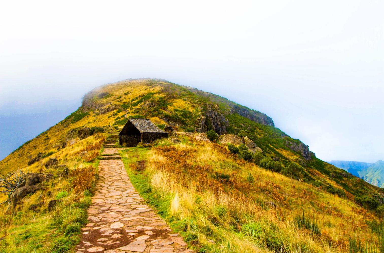 caminhada pelos picos da Madeira