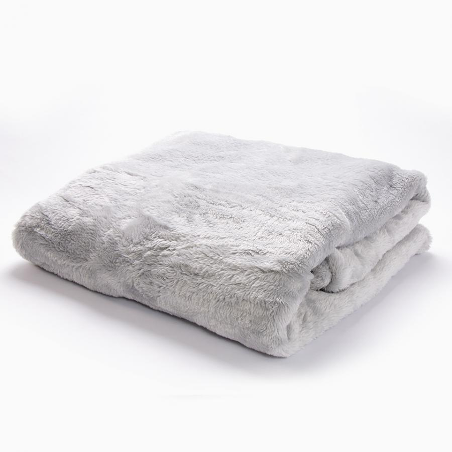 Manta Fluffy Cinza (9,99€)