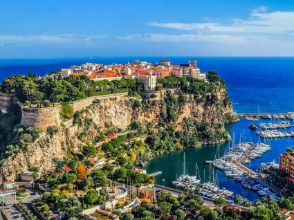 Panorâmica do Mónaco
