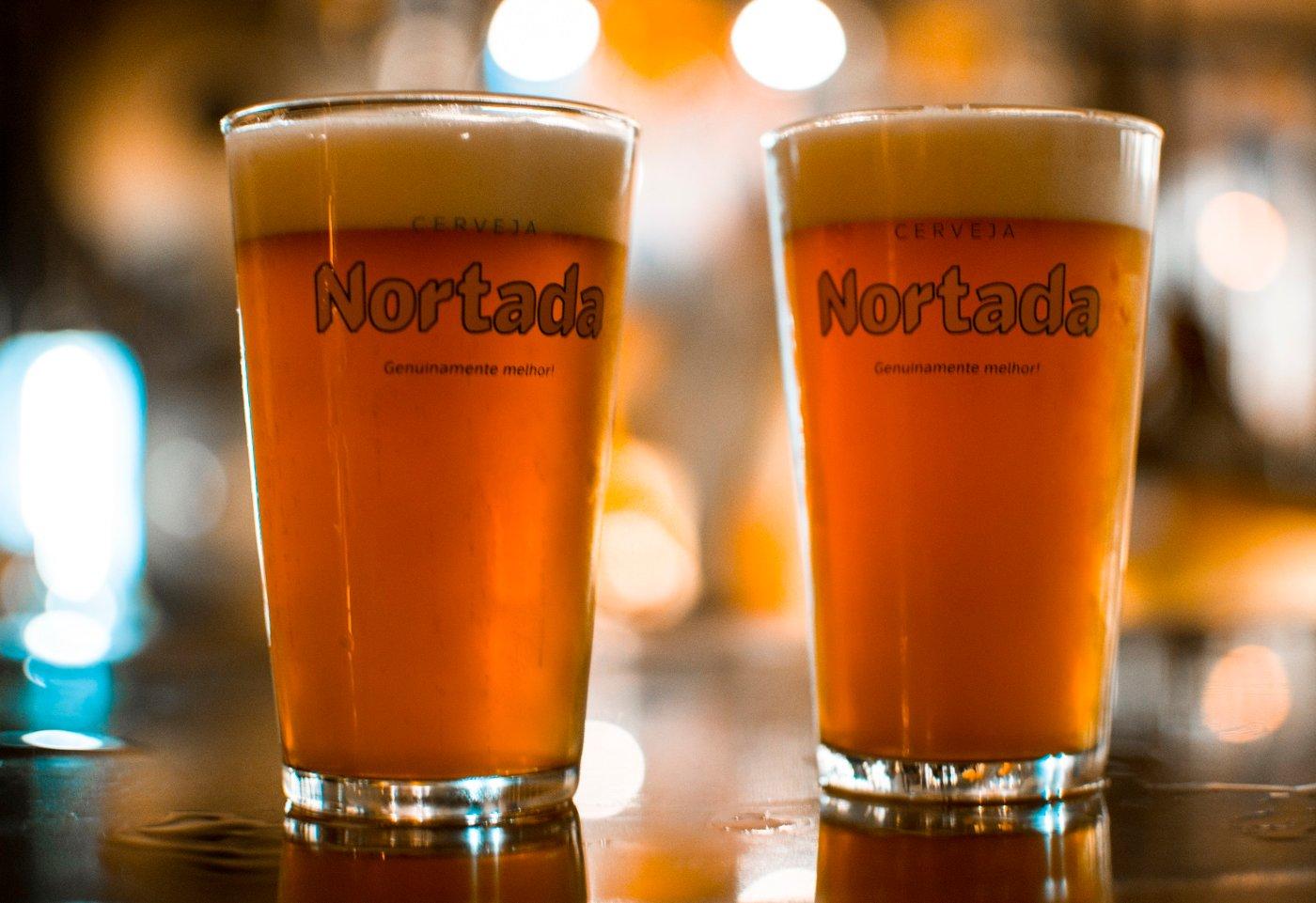 Copos de cerveja Nortada