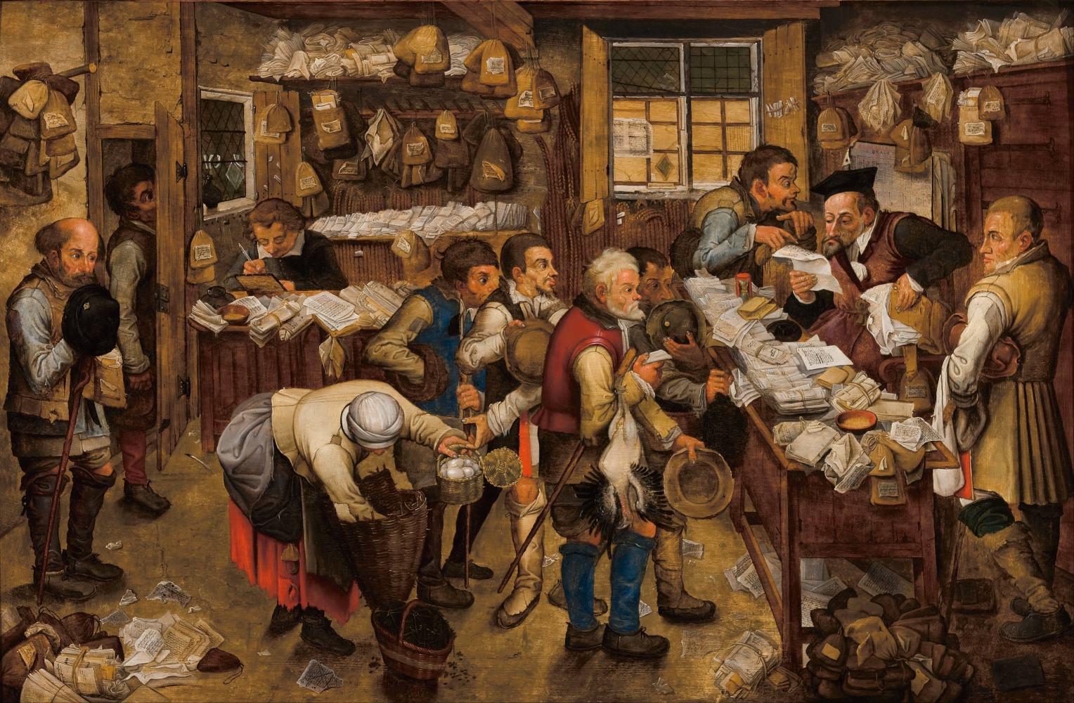 O cobrador de impostos de Pieter Brueghel