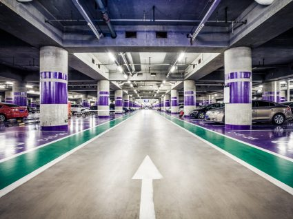 parque de estacionamento subterraneo
