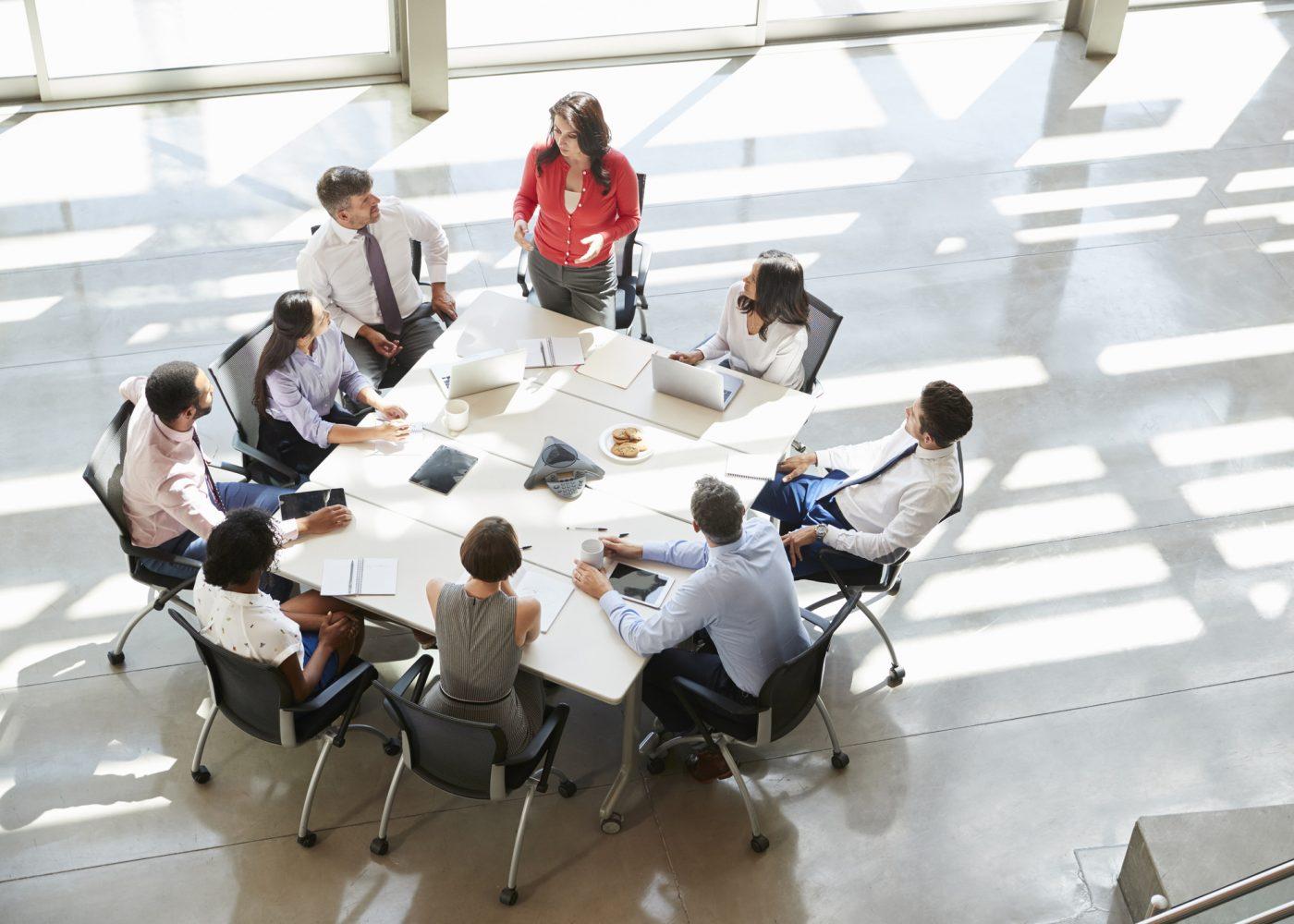 reunião de equipa