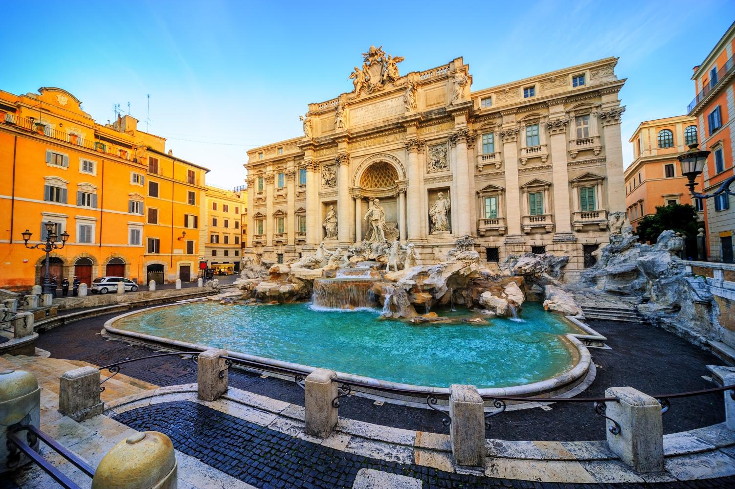 Fonte de Tevi em Roma