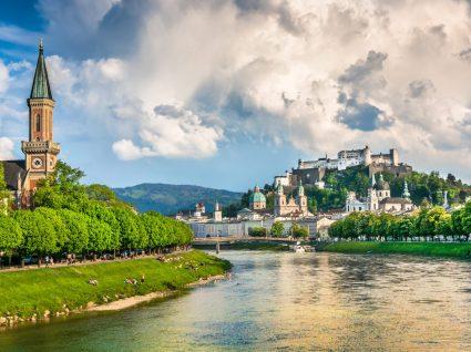 Panorâmica de Salzburgo